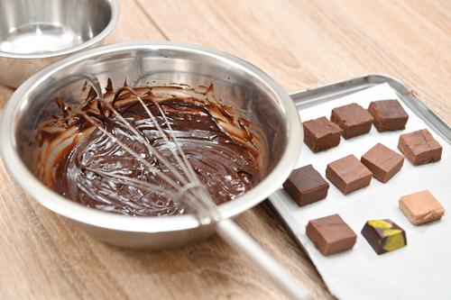 五感で感じるチョコレート