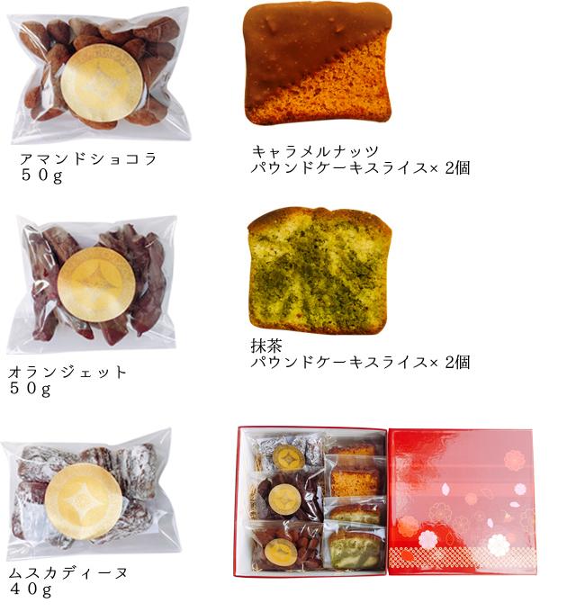 焼き菓子セット内容