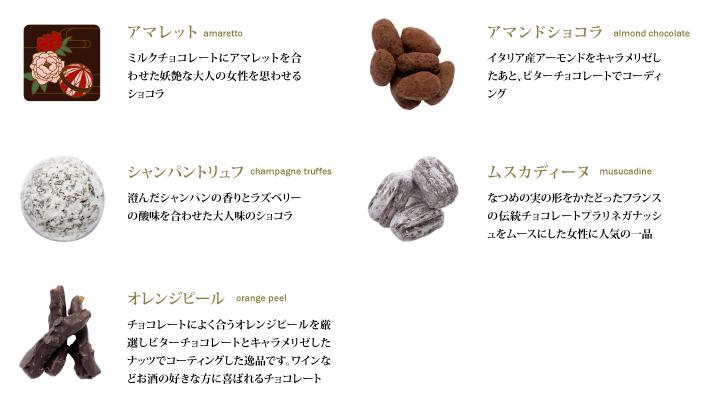 チョコレートの種類5